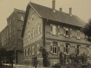 Die Mühle in Bietigheim.