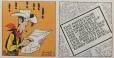 Schon in der ersten Nummer liest Lucky Luke, der Raucher, in der Zeitung.