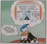 Donald Duck und seine erträumte Schlagzeile.