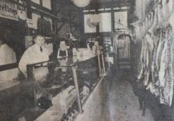 Blick in den zweiten Laden von Karl Ehmer an der First Avenue zwischen der 86. und 87. Straße in New York. Neben ihm seine Frau Martha Ehmer.