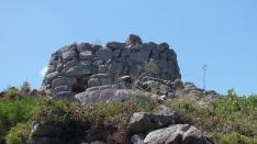 Eine archäologische Stätte der Nuraghier.
