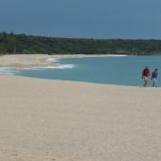Der weite Strand am Torre di Bari, zu erreichen von Bari Sardo aus.