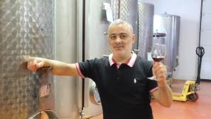 Roberto Ligas - der Metzger, der auch Weinbauer ist.