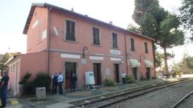 Der Bahnhof in Lanusei.