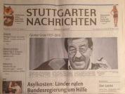 Günter Grass im Spiegel der Titelbilder.