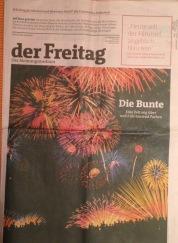 Dei deutsche Financial Times geht, der FREITAG bleibt - in FT-Rosa.