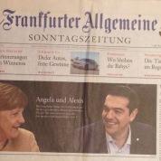 Die FAZ Sonntagszeitung vor der Umstellung.